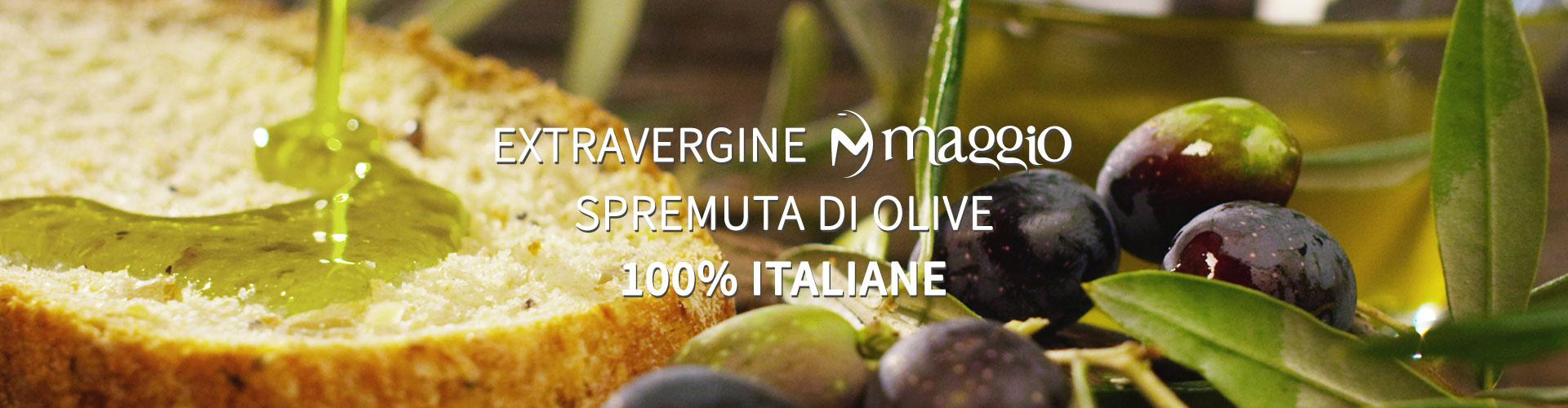 Oleificio Maggio - Una vera spremuta di olive - 100% italiano